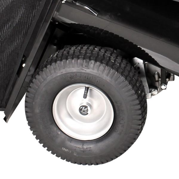 luftbefüllte Räder für komfortables Fahren