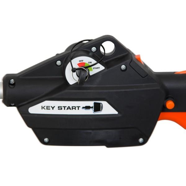 Elektrostart per Zündschlüssel_ Einfach Schlüssel drehen und der Motor springt an